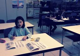 教室風景のイメージ